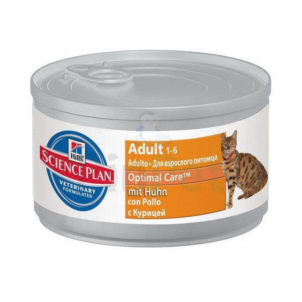 hills optimal care adult chicken min