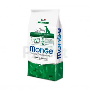 monge dogs dog maxi adult rich in chicken min
