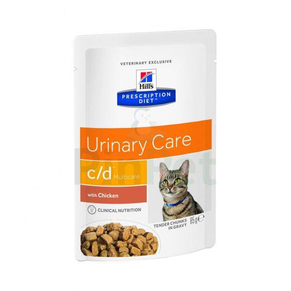 vlazhnyj korm dlja koshek hills prescription diet cd multicare feline tender chunks in gravy with chiken
