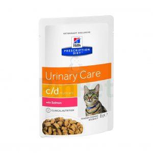 vlazhnyj korm dlja koshek hills prescription diet cd multicare feline tender chunks in gravy with salmon